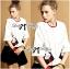 Lady Ribbon's Made &#x1F380 Lady Julianna Sassy Embellished Surreal Print Blouse thumbnail 5
