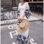 Lady Ribbon Korea Dress LR09060616 &#x1F380 Lady Ribbon's Made &#x1F380 Lady Cathy Casual Beach Chic Lace Embroidered Cotton Maxi Dress thumbnail 5