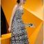 Lady Ribbon Korea Mini Dress LR08160616 &#x1F380 Lady Ribbon's Made &#x1F380 Lady Azelea Monochrome Lace Mini Dress thumbnail 3