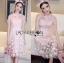 Lady Ribbon Korea Dress LR02160616 &#x1F380 Lady Ribbon's Made &#x1F380 Lady Amanda Sweet Feminine Butterfly Embroidered Polyester Dress thumbnail 2