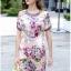 Lady Ribbon Korea Brand SS12300516 Seoul Secret Say's .... Violetta Blossom Softly Color Dress thumbnail 4