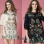 Lady Ribbon Korea Closet Dress SW18060616 Sweet Bunny Present... Floral Embroidered Dress thumbnail 1