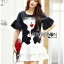 Lady Ribbon Korea Dress &#x1F380 Lady Ribbon's Made &#x1F380 Lady Vivienne Pretty Woman Chic Embroidered Polyester and Lace Dress thumbnail 3