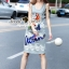 Lady Ribbon Korea Brand SS19300516 Seoul Secret Say's .... Parroty Lace Lace Cami Dress thumbnail 4