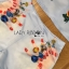 Lady Ribbon เสื้อผ้าเกาหลี LR15110716 &#x1F380 Lady Ribbon's Made &#x1F380 Lady Cara Surreal Bejewelled Printed Satin Set เซ็ตเสื้อและกางเกง thumbnail 4