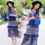 Lady Ribbon Korea Brand SV14060616 &#x1F389Sevy SP V-Neck Elegant Sleeveless Vintage Lace Dress thumbnail 2