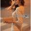 Lady Ribbon Korea LR06260516 &#x1F380 Lady Ribbon's Made &#x1F380 Lady Abigail Sweet Vintage Embellished Lace Dress เดรสผ้าลูกไม้ thumbnail 3