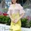 Lady Ribbon Korea Closet SB 09300516 Sweet Bunny Present... Petite Airtex Mini Dress thumbnail 4