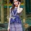 Lady Ribbon Korea Brand SV14060616 &#x1F389Sevy SP V-Neck Elegant Sleeveless Vintage Lace Dress thumbnail 3