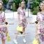 Lady Ribbon Korea Brand SS12300516 Seoul Secret Say's .... Violetta Blossom Softly Color Dress thumbnail 1