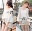 Lady Ribbon Korea Mini Dress thumbnail 3