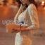 Lady Ribbon Korea LR06260516 &#x1F380 Lady Ribbon's Made &#x1F380 Lady Abigail Sweet Vintage Embellished Lace Dress เดรสผ้าลูกไม้ thumbnail 4