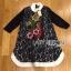 Lady Ribbon Korea LR07230516 &#x1F380 Lady Ribbon's Made &#x1F380 Lady Dakota Preppy Sweet Flower Sequin Embroidered navy Lace Dress thumbnail 6