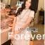 Lady Ribbon's Made &#x1F380 Lady Elizabeth Sweet Feminine Layered Mini Lace Dress in White thumbnail 4