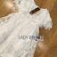 Lady Ribbon Korea Dress &#x1F380 Lady Ribbon's Made &#x1F380 Lady Lauretta Pure Summer Off-Shoulder White Lace Dress thumbnail 5