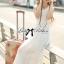 Lady Ribbon's Made &#x1F380 Lady Ribbon's Made Lady Ribbon White Floral Embellish Lace Maxi thumbnail 6
