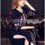 &#x1F380 Lady Ribbon's Made &#x1F380 Lady Lea Boho Colourful Flower Embroidered Midi Dress thumbnail 2