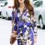 Lady Ribbon Brand SS15060616 Seoul Secret Say's... Violeta Flora Fashly Smocking Set thumbnail 4
