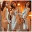 Lady Ribbon Korea LR06260516 &#x1F380 Lady Ribbon's Made &#x1F380 Lady Abigail Sweet Vintage Embellished Lace Dress เดรสผ้าลูกไม้ thumbnail 1