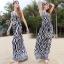 Brand Sevy Zebra Spaghetti Maxi Dress thumbnail 3
