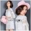 Lady Ribbon's Made &#x1F380 Lady Korea Marion Classy Chic Mixed White Lace Dress Korea thumbnail 3