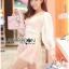 Lady Ribbon Korea Dreaa ลูกไม้ LR04130616 &#x1F380 Lady Ribbon's Made &#x1F380 Thea by Taylor Feminine Elegant Mini Flower Brand Embroidered Mixed Fabrics thumbnail 3