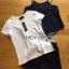 Lady Ribbon Korea Korea LR05300616 &#x1F380 Lady Ribbon's Made &#x1F380 Lady Kate Fashionable Street T-Shirt and Denim Full Set thumbnail 5