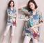 Closet &#x1F49E&#x1F4ABKorean wild loose cotton shirt printed graphics by Aris Code thumbnail 2
