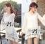 Lady Ribbon Korea Mini Dress thumbnail 6