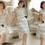Lady Ribbon Korea Brand SS04300516 Seoul Secret Say's... Classy Flora Lace Dress thumbnail 1
