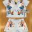 Lady Ribbon เสื้อผ้าเกาหลี LR15110716 &#x1F380 Lady Ribbon's Made &#x1F380 Lady Cara Surreal Bejewelled Printed Satin Set เซ็ตเสื้อและกางเกง thumbnail 5