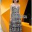Lady Ribbon Korea Mini Dress LR08160616 &#x1F380 Lady Ribbon's Made &#x1F380 Lady Azelea Monochrome Lace Mini Dress thumbnail 2