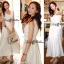 Lady Ribbon's Made &#x1F380 Lady Ribbon's Made Lady Ribbon White Floral Embellish Lace Maxi thumbnail 5