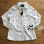 &#x1F380 Lady Ribbon's Made &#x1F380 Lady Blaire Floral Embroidered Lace Shirt in White เ thumbnail 6