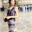 Lady Closet Dress&#x1F4ABRetro dress Silk chiffon sleeveless beach house by Aris Code Ribbon thumbnail 3