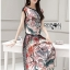 Lady Ribbon Korea Dress &#x1F380 Lady Ribbon's Made &#x1F380 Lady Rachelle Wild Animal Printed Set thumbnail 4