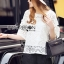 Lady Ribbon Korea Closet dress LR11230616 &#x1F380 Lady Ribbon's Made &#x1F380 Lady Natasha Classic Vintage Lace Blouse with Cotton Ribbons thumbnail 1