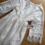 Lady Ribbon เสื้อผ้าเกาหลี LR03140716 &#x1F380 Lady Ribbon's Made &#x1F380 Lady Kate Modern Bohemian Fringed White Lace Dress เดรสผ้าลูกไม่ประดับพู่ thumbnail 4
