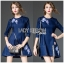 Dress Lady Ribbon Korea Mini Dress มินิเดรส thumbnail 2