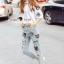 Lady Ribbon Korea Brand SS07060616 Seoul Secret Say's... Chic Shirt ButterFly Denim Set thumbnail 5