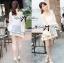 Lady Ribbon Korea Mini Dress thumbnail 4