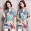 Closet &#x1F49E&#x1F4ABKorean wild loose cotton shirt printed graphics by Aris Code thumbnail 1