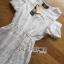 Lady Ribbon Korea Dress Lady Ribbon Korea LR23190516 &#x1F380 Lady Ribbon's Made &#x1F380 Lady Amanda Pretty Sweet Off-Shoulder Lace Dress เดรสผ้าลูกไม้ thumbnail 7