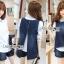 Lady Ribbon Korea LR14230516 &#x1F380 Lady Ribbon's Made &#x1F380 Lady Trixie Smart Casual Denim Set thumbnail 1