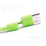 สายชาร์จ Micro USB Remax Safe and Speed Data (สีเขียว)