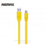 สายชาร์จ REMAX Ferrari Full Speed Micro USB (สีเหลือง)