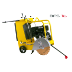 WECKER NEUSON เครื่องตัดคอนกรีต รุ่น BFS 16 / BFS 18 / BFS 18D