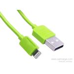 สายชาร์จ Remax Safe and Speed Data Lighting Cable (สีเขียว)