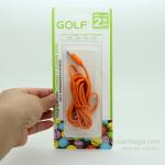 สายชาร์จ Micro USB GOLF Colorful สายกลมยาว 2 เมตร (สีส้ม)