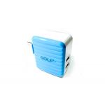 หัวชาร์จไฟ USB GOLF 1Ah. - 2.4Ah. รุ่น DP-301 (สีฟ้า)